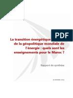 IRES - Transition énergétique et géopolitique - Maroc.pdf