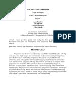 Jurnal Pengamatan Web (Tugas Kelompok)