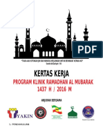 kertas kerja Klinik Ramadhan