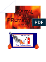 The ABCs of Fire Extinguishers