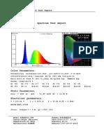 Street50 Spectrum Test Report