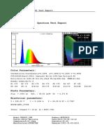 Vega20 Spectrum Test Report