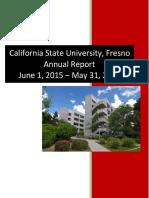 california state university fresno 2015 - 2016 annual report
