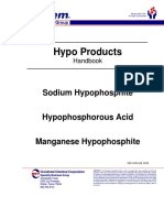 Hypo Phosphoric acids