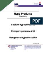 Hypo Phosphoric acids
