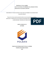 Rancangan IDF untuk sistem PLTU Kapasitas 200 MW