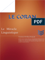 Coran Le Miracle Linguistique