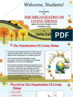 6.the Organisation of Living Things Std.7