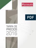 201606 Plymouth Tarifa 2016