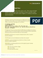 How to Read an FAA Flight Plan