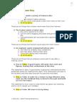 Pre-Test Answer Key