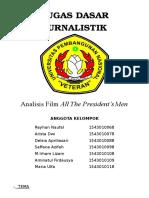 Analisis Film ALL THE PRESIDENT'S MEN