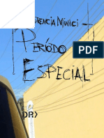 Periodo Especial - Florencia Minici