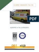Manual 061 Soporte Vital Avanzado Rev.00