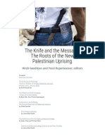 The Knife and the Message the Roots of the New Palestinian Uprising