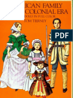 American Family of the Colonial Era Paper Dolls
