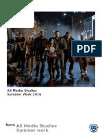2016 ASMedia Studies Summer Work