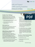 Strategies to Identify and Support English Learners With Learning Disabilities