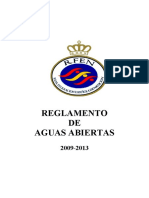 Reglamento Aguas Abiertas 2009-2013