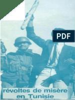 REVOLTE DE MISERE TUNISIE 1984