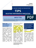 Tips on Developing Indicators