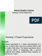 Deming Funnel