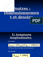 Poutres-Dimensionnement et dessin.ppt