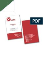 F2FX - carte visiste