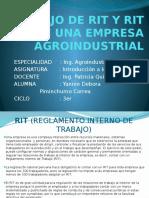 RIT en empresa agroindustrial