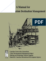 A Manual for Sustainable Tourism Destination Management