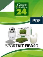 Gazon Synthetique Fifa 40 - Gazonsynthetique24
