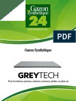 Gazon Synthetique Grey Tech - Gazonsynthetique24
