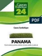 Gazon Synthetique Panama - Gazonsynthetique24