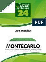 Gazon Synthetique Montecarlo - Gazonsynthetique24