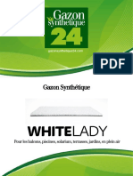 Gazon Synthetique White Lady - Gazonsynthetique24