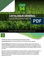 Catalogue General Gazon Synthetique 24