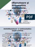 Antiinflamatoare Şi Antireumatice Nesteroidiene