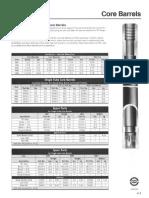 Acker Tooling Catalog Core Barrels