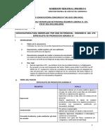 Proceso de Convocatoria Concurso Nº 003-2015-Dra.moq