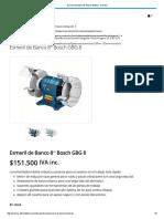 Esmeril de Banco 8_ Bosch GBG 8 - Aritrans