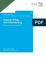Dokumentation Jauss UniKN 20052015