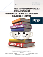 Methodology for informal language learning for low skilled citizens and migrants