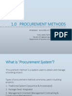 1. Procurement Methods (Student)