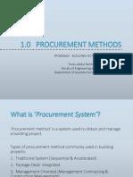 1. Procurement Methods (Student)