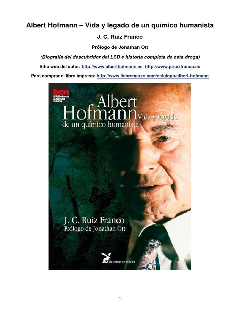 Ruiz franco albert hofmann vida y legado de un quimico humanista ruiz franco albert hofmann vida y legado de un quimico humanista fandeluxe Images