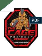 Sticker the Cage Panama y Ecuador 15 x 15 Cm