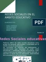 Las redes sociales en el ámbito educativo