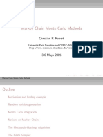 Monte Carlo Notes From Main Book