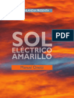 Sol Eléctrico Amarillo, de Manuel Onetti