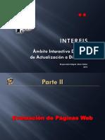 INTERFIS. BD02. II. Evaluación de Páginas Web. 2010